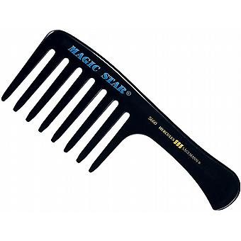 Hercules Sagemann Magic Star Hair Comb Seamless 9""