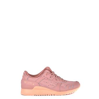 Asics Pink Leather Sneakers