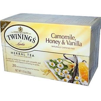 Twinds Of London Pure Camomile Honey & Vanilla Herbal Tea