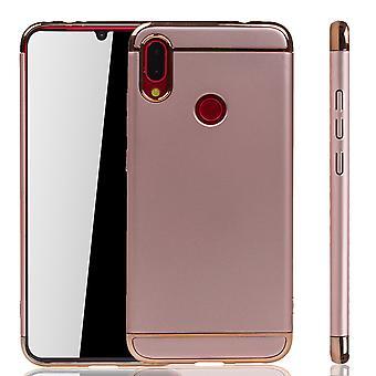 Xiaomi Redmi Huom 7/7 Pro Puhelin kotelo suoja kotelo puskurin kova kansi vaaleanpunainen