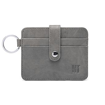 Hautton Thin 4 Credit Card Holder - Grey