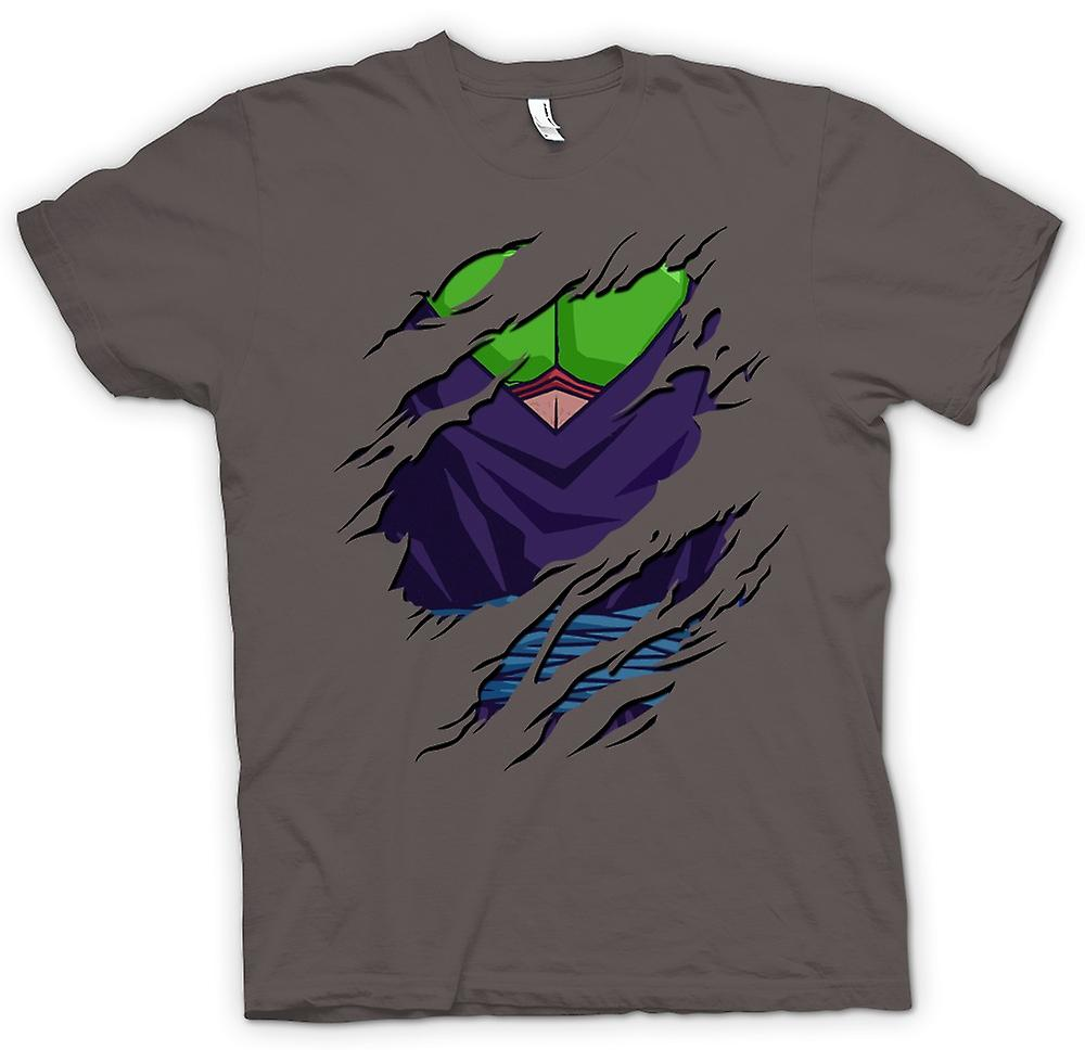 Mens T-shirt - Design déchiré Piccolo - Dragon Ball Z