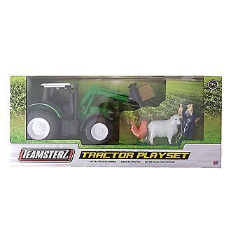 Teamsterz Tractor Playset - Verde