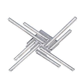 Wofi Sorel - LED 8 Light Flush Plafond Lumière Chrome - 9524.08.01.0000