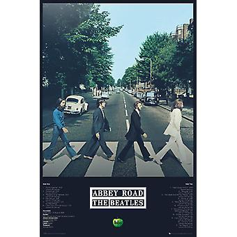Beatles Abbey Road spor Maxi plakat 61x91.5cm
