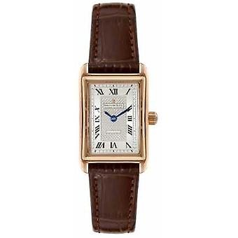 Dreyfuss Womens 1974 Brown Leather Strap Silver Dial DLS00143/06 Watch