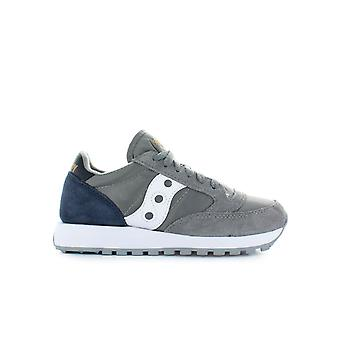 SAUCONY ORIGINALS GREY NAVY JAZZ SNEAKER