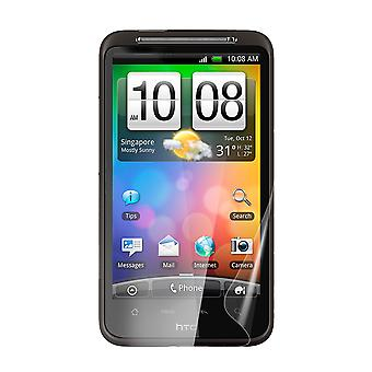 Celicious Vivid Plus Mild Anti-Glare Screen Protector Film Compatible with HTC Desire HD [Pack of 2]