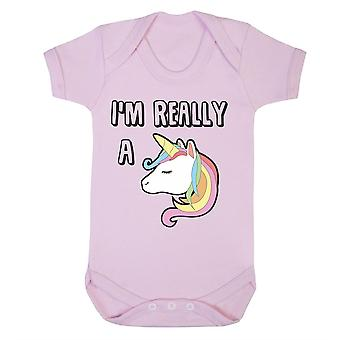 I am really a unicorn babygrow