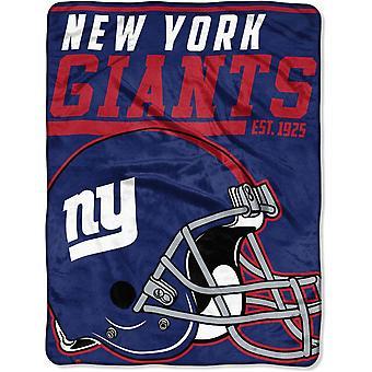 Northwest NFL New York Giants Mikro Plüschdecke 150x115cm