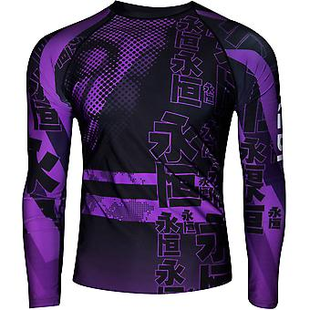 Dokebi Eternal Long Sleeve MMA Rashguard - Purple