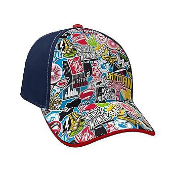 Batman Vs Spiderman Cap Navy Azul