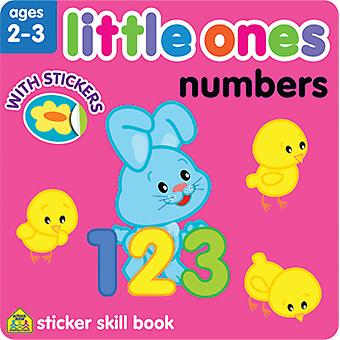 Little Ones Sticker Skill Book-Numbers SZLOSSB-06427