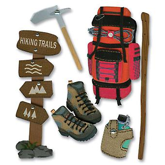 Jolee's Boutique Dimensional Stickers Hiking Trip Spjb 342