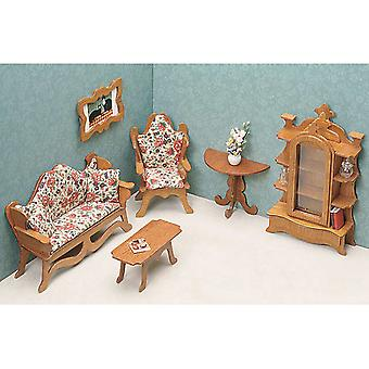 Dollhouse Furniture Kit Living Room 72G 03