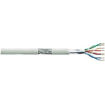 Network cable CAT 5e SF/UTP 4 x 2 x 0.13 mm² Grey LogiLink CPV0017 100 m