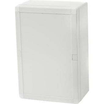 Wall-mount enclosure, Build-in casing 244 x 164 x 90 Polycarbonate (PC) Light grey (RAL 7035) Fibox EURONORD 3 PCTQ3 16