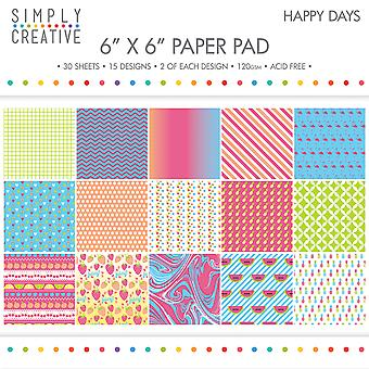 Simply Creative Paper Pad 6