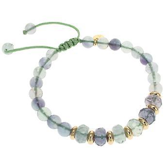 Lola Rose Trisha armbånd smaragd grøn fluorit