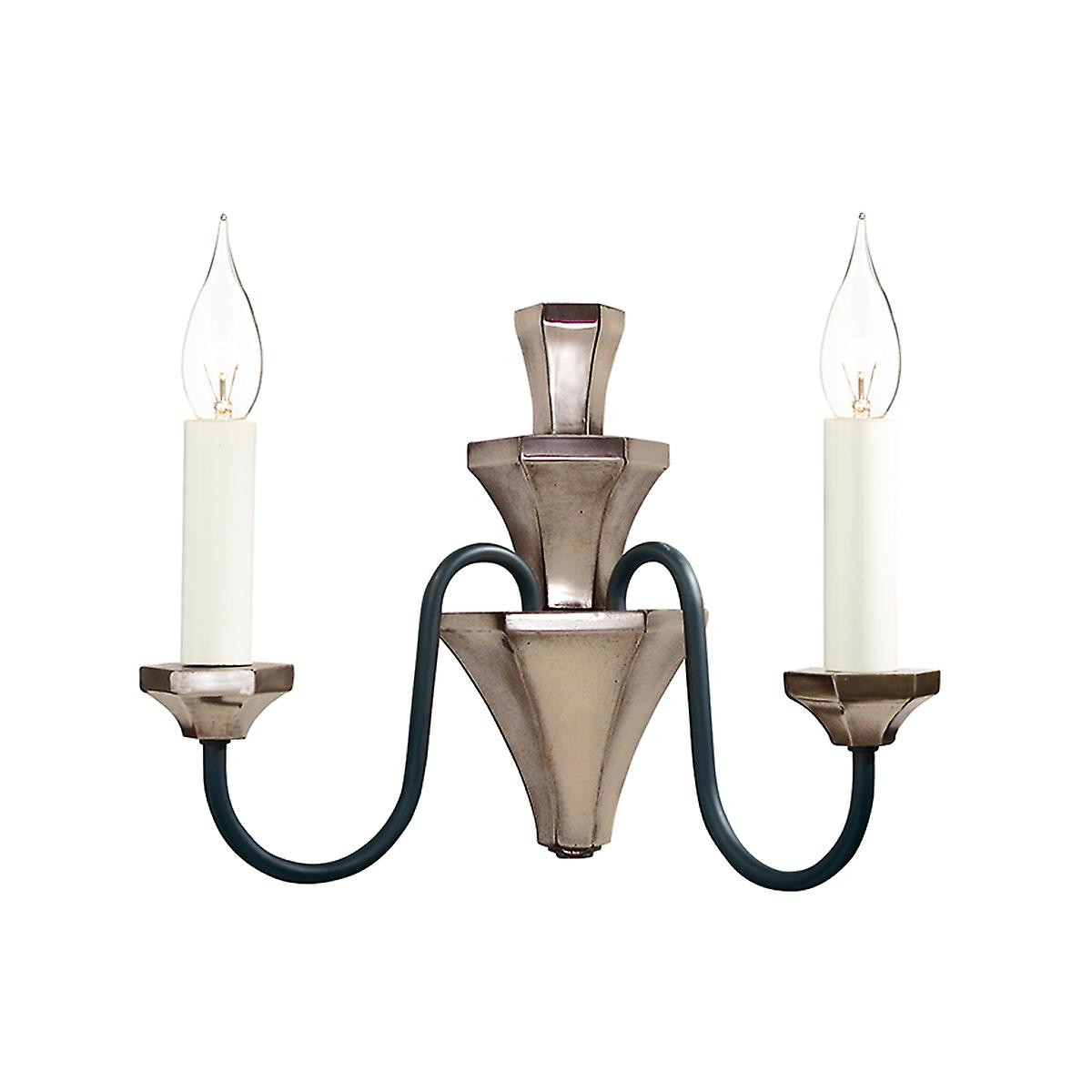 David Hunt OTH0963 Othello Traditional Double Wall Light In Bronze
