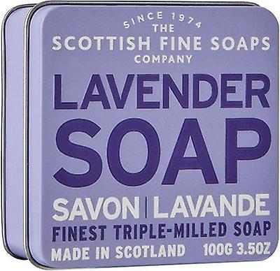 Scottish Fine Soaps Lavender Soap Tin