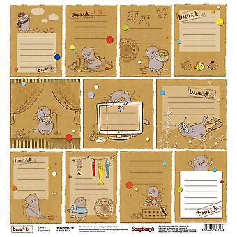 ScrapBerry's Basik & Ko Single-Sided Cardstock 12
