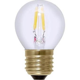 LED (monochrome) Segula 230 V E27 2.7 W = 18 W Warm white EEC: A+ Droplet (Ø x L) 45 mm x 72 mm Filament, dimmable 1 pc(