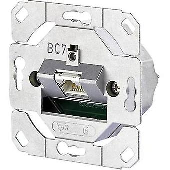 Network outlet Flush mount Insert CAT 6 1 port Metz Connect