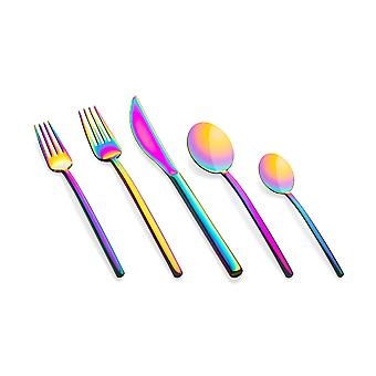 Mepra Due Rainbow 5 pcs flatware set