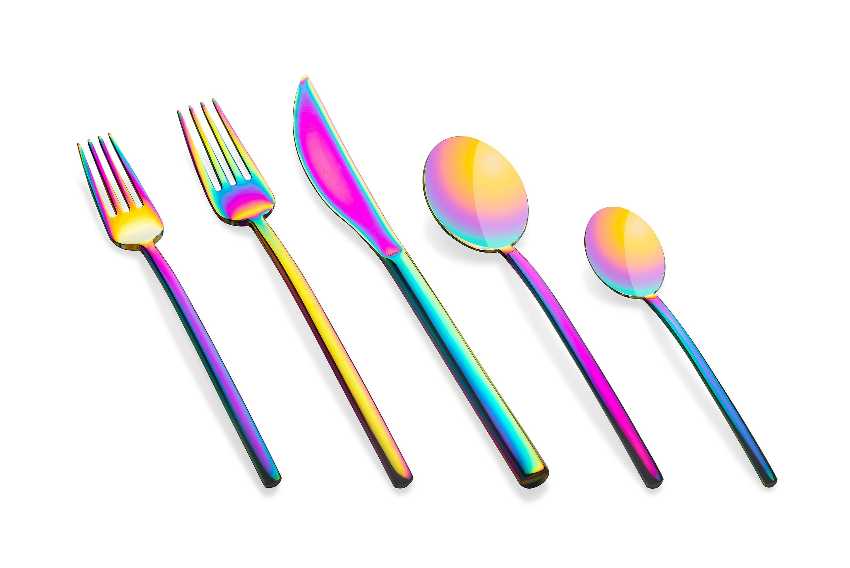 Mepra Due Rainbow 5 pcs flatware set