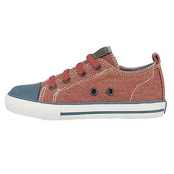 Gioseppo Boys Fides Canvas Shoes Red