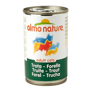 Almo Nature Cat Adult Trout 140g (Pack of 24)