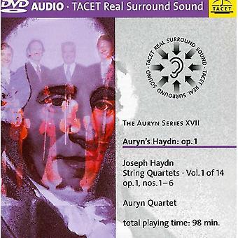 J. Haydn - Haydn: Strygekvartetter, Op. 1 [DVD-Audio] USA import