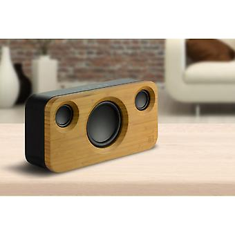 KITSOUND Soul2 Wood Finish Speakers Wireless