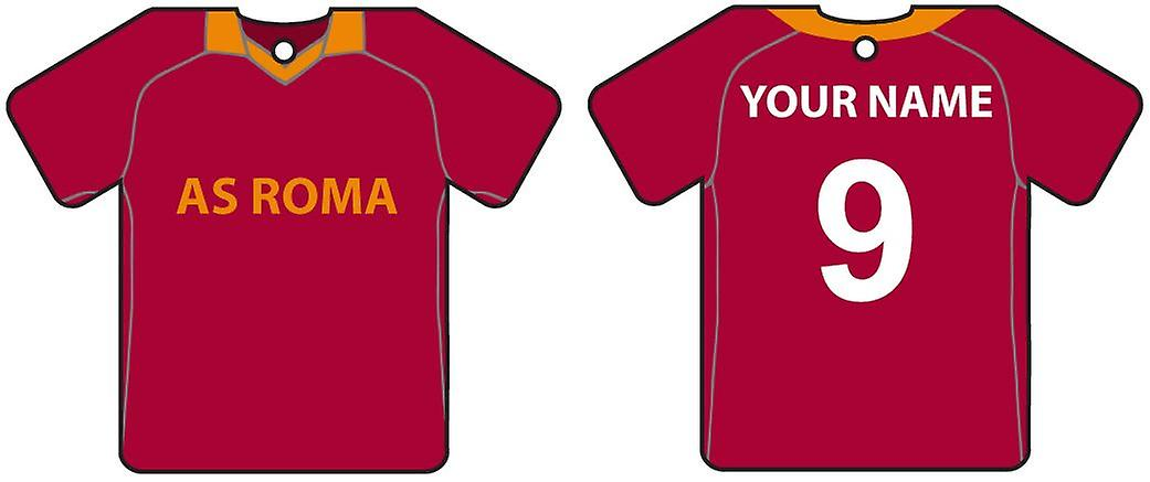 Personalised AS Roma Football Shirt Car Air Freshener