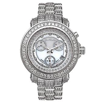 Joe Rodeo diamond men's watch - RIO silver 9.5 ctw
