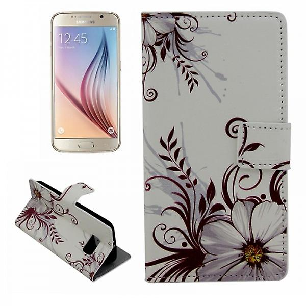 Cases Wallet pattern 77 for Samsung Galaxy S6 G920 G920F