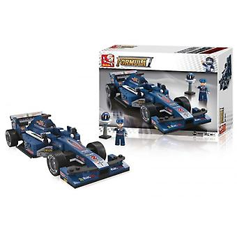 Sluban F1 racing car blue