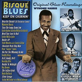 Risque Blues-Keep on Churnin - Risque Blues-Keep on Churnin [CD] USA import