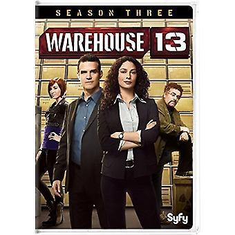 Warehouse 13: Season Three [DVD] USA import