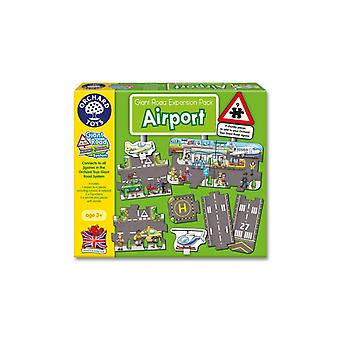Orchard Toys Airport Giant Road Puzzle Expansion Pack