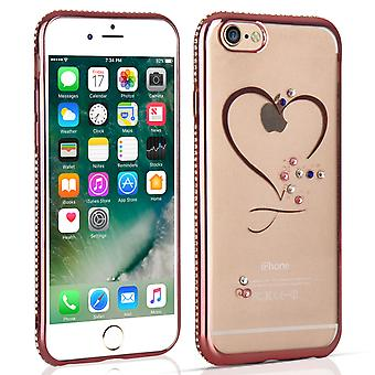 Apple iPhone 7 Diamond Edge Case Rose Gold