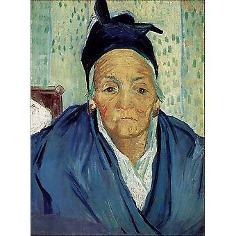 Vincent Van Gogh - An Old Woman of Arles, 1888 Poster Print Giclee