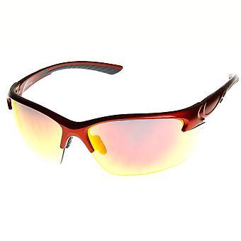 Ekstremsport brudsikkert TR-90 halv ramme Sports solbriller
