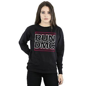 Run DMC Women's Neon Logo Sweatshirt