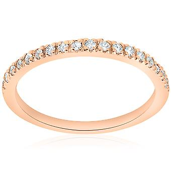 1 / 4ct Diamant Ring 14K Rose Gold