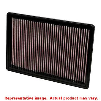 K&N 33-2247 K&N Drop-In High-Flow Air Filter Fits:DODGE 2002 - 2003 RAM 1500 V8
