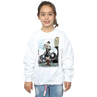 Star Wars Girls The Last Jedi Japanese Rey Sweatshirt