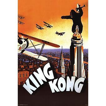 كينغ كونغ-طباعة الملصقات ملصق