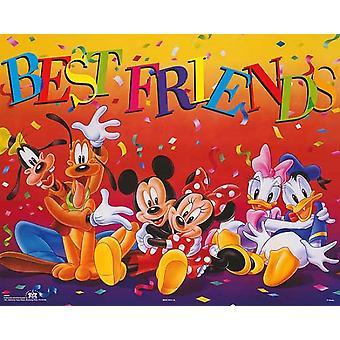 Mickey & Friends Best Friends Poster Print by Walt Disney (20 x 16)